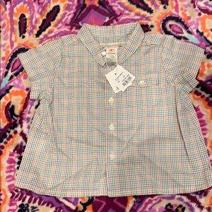 Bonpoint baby girl chemise
